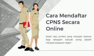 Cara Mendaftar CPNS Secara Online