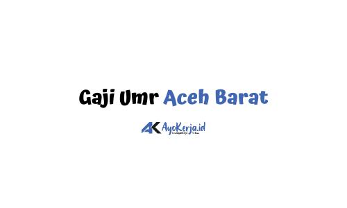 Gaji Umr Aceh Barat